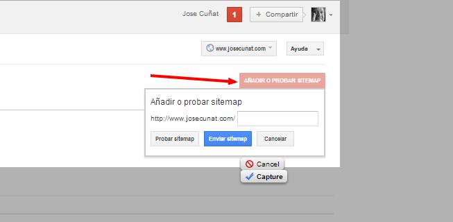 Herramientas para webmasters de Google Sitemaps http www.josecunat.com