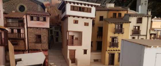 Así se hizo el Belén monumental de Nuevo Centro realizado por Asociación de belenistas de Valencia