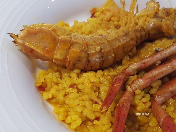 arroz meloso de carranc y galeras