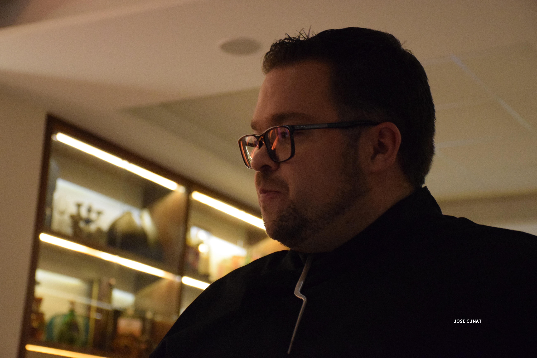 El chef Mauricio Gómez