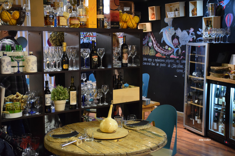 Restaurante julio verne en valencia jose cu at - Restaurante julio verne ...