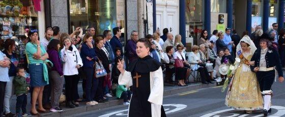 Ofrenda a Sant Vicent Ferrer, Patrón de la Comunitat Valenciana