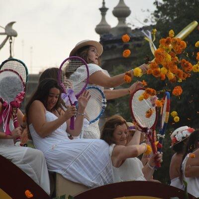 La 126º edición de la Batalla de Flores de València