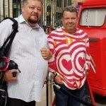 Chicote hace parada en Valencia para promocionar la cocina cardiosaludable CARDIO FOOD TRUCK BY CHICOTE