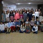 La Seu-Xerea-El Mercat celebró la merienda de relevos infantiles
